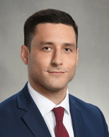 Image of attorney Chase Parker, an Indianapolis family law attorney and criminal defense lawyer at Keffer Hirschauer LLP who brings his A-game to every client's case.